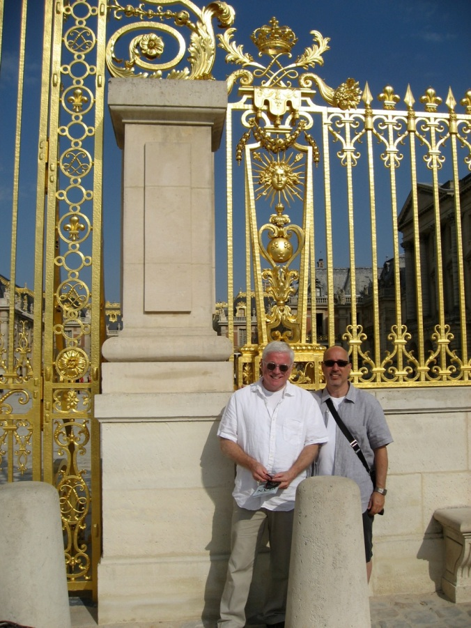 Charles and Bob in Versailles 2010
